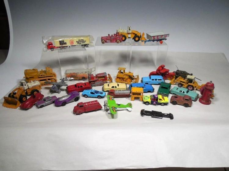Large Group Lot Toys Inc. Cars, Plane etc