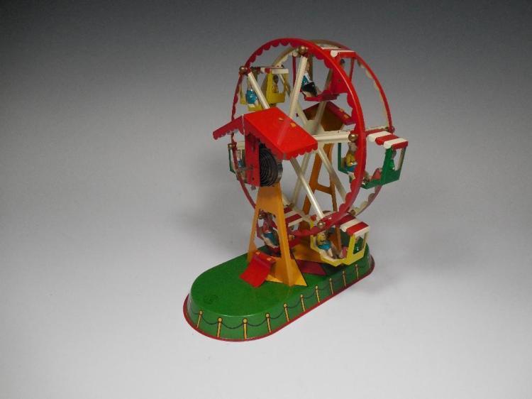 Vintage Made in Germany Toy Ferris Wheel