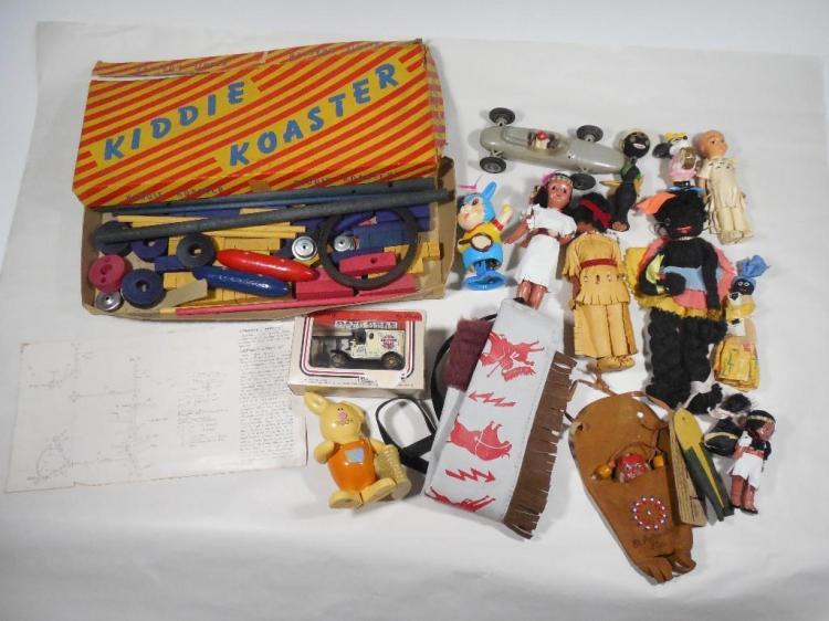 Large Group Lot Vintage Toys, Figures etc