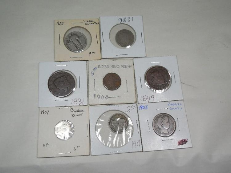 Nice US Type Coin Group Lot Inc. Silver