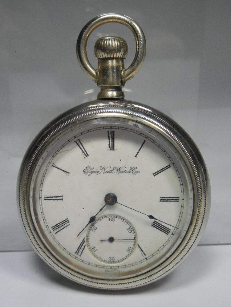 18 Size 15J Elgin Pocket Watch - Running
