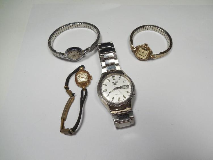 Group Lot better Watches Inc. Seiko, Bulova
