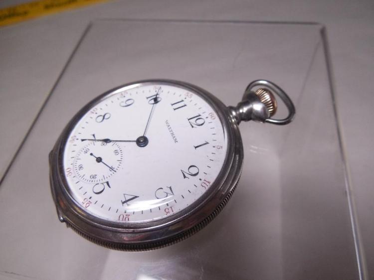 Waltham Pocket Watch 16 size 7J Runs Nice