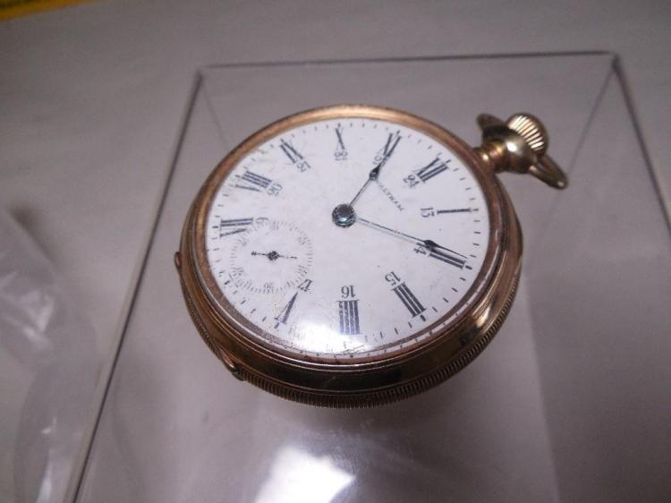 Waltham Pocket Watch Rare 24-Hour Canadian Dial