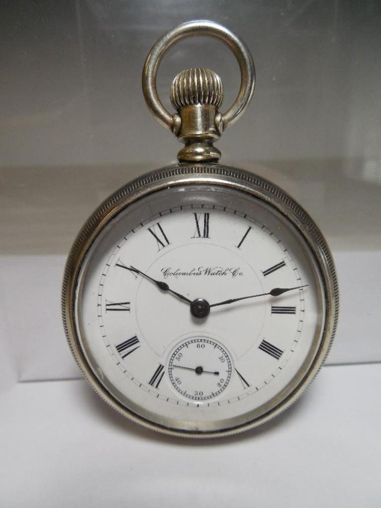 Columbus Watch Co Pocket Watch 16 size