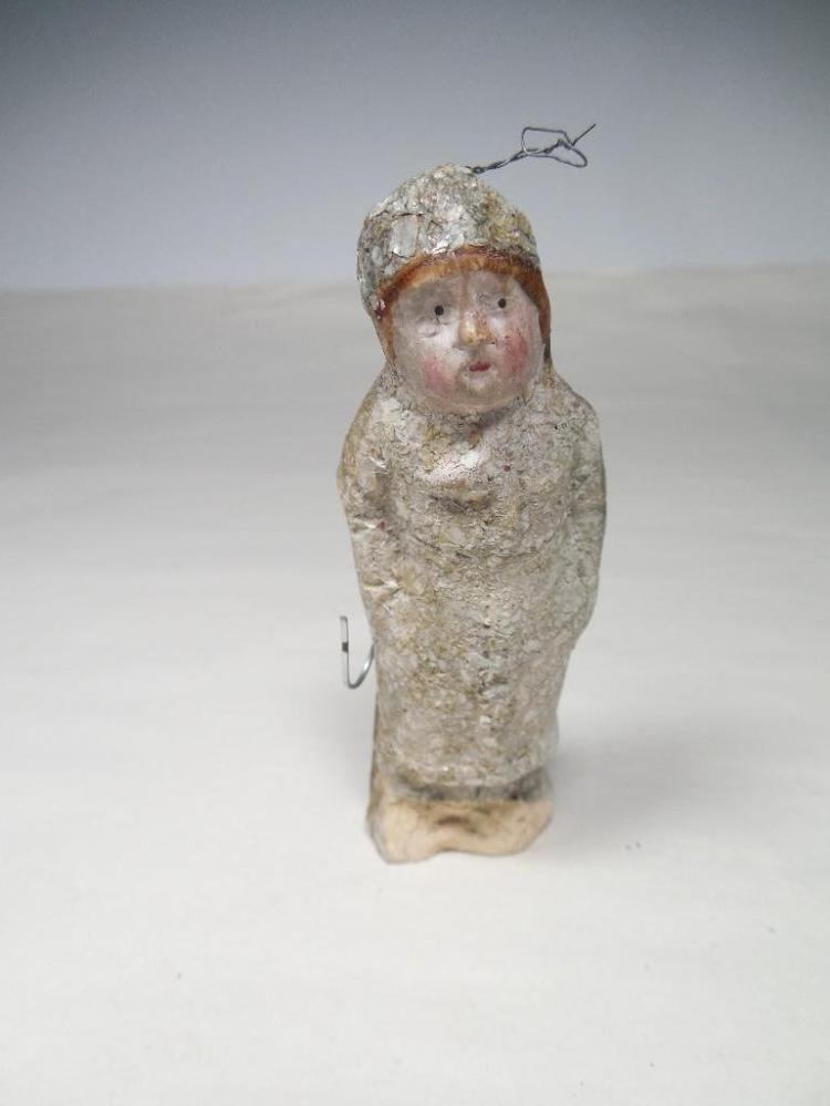 Early Unusual Figural Chistmas Ornament of a Man