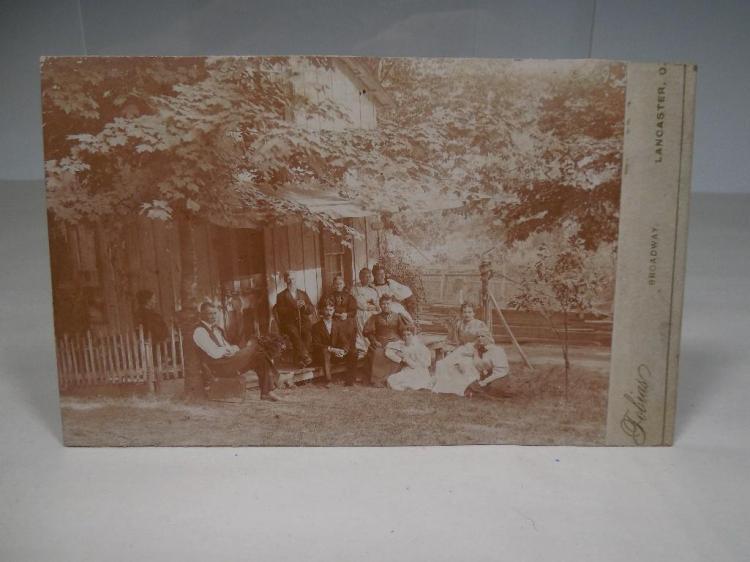 Rare Lancaster Campground Ohio Cabin Photo