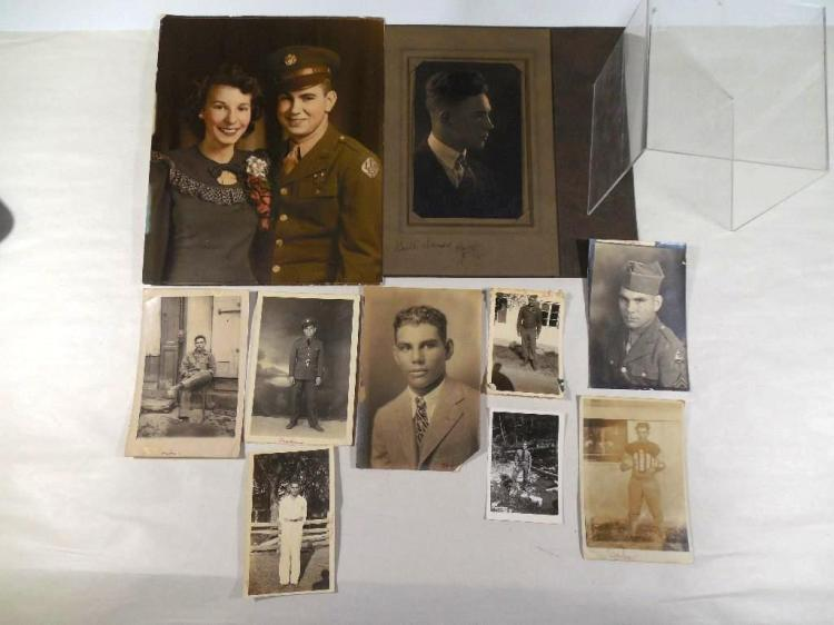 Group Lot of Antique Photos Inc. Military