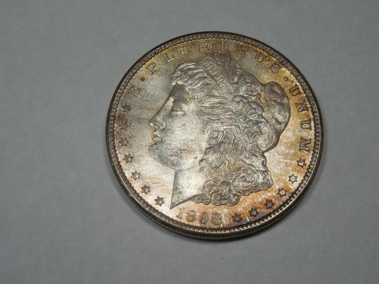 ~MS66 1898-O Morgan Dollar Silver Coin