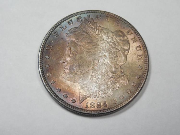 ~MS66 1884-P Morgan Dollar Silver Coin