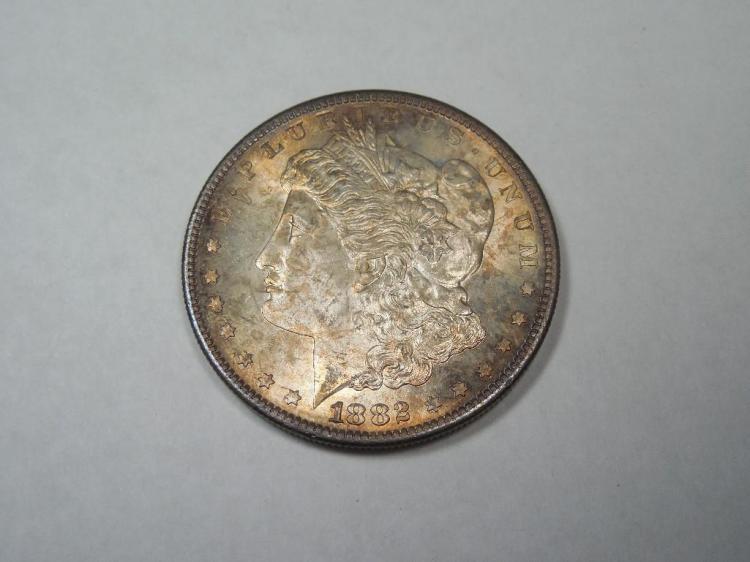 ~MS66 1882-S Morgan Dollar Silver Coin