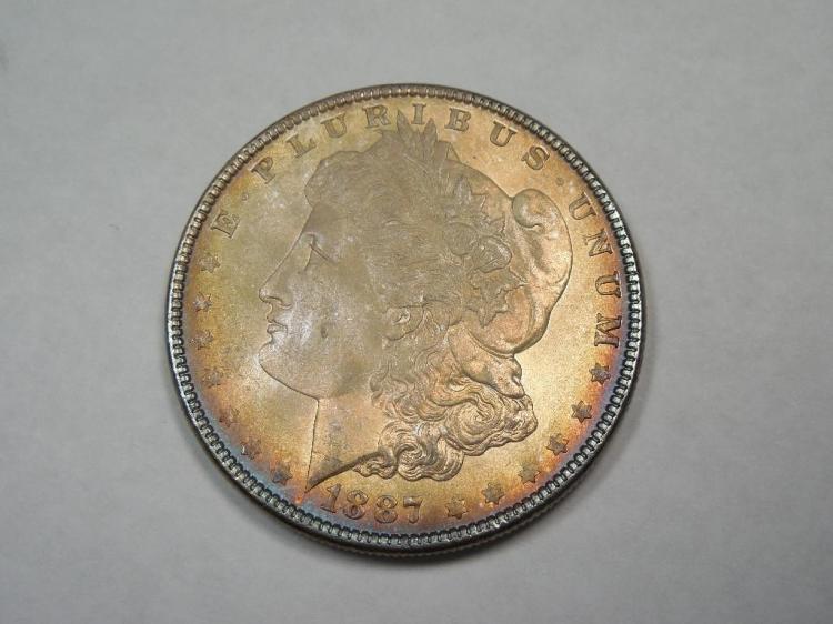 ~MS66 1887 Morgan Dollar Silver Coin