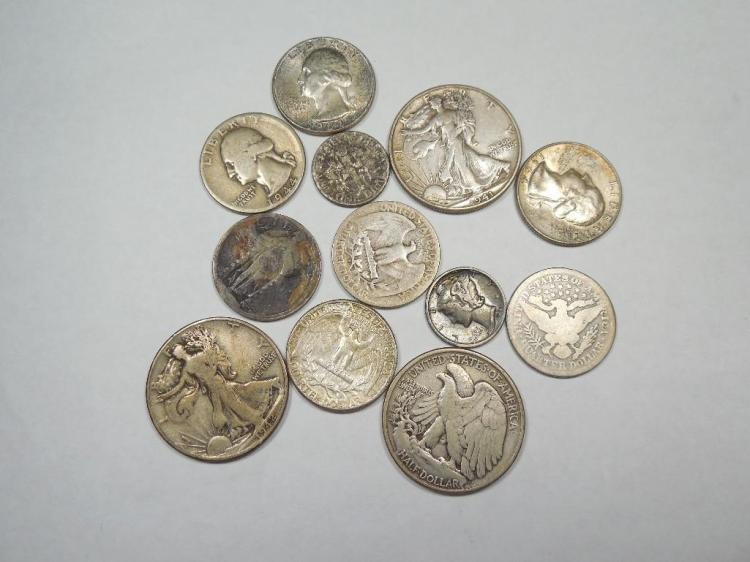 Group Lot of Silver Type Coins Etc.