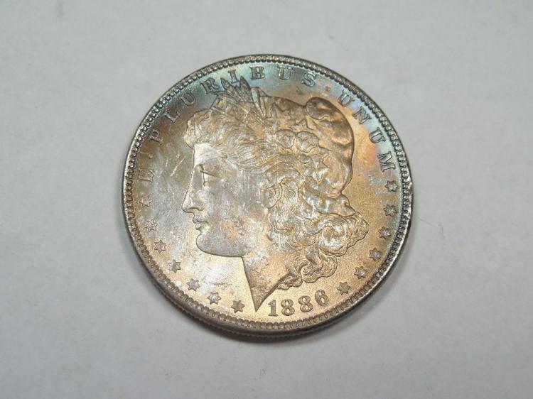 ~MS66 1886 Morgan Dollar Silver Coin