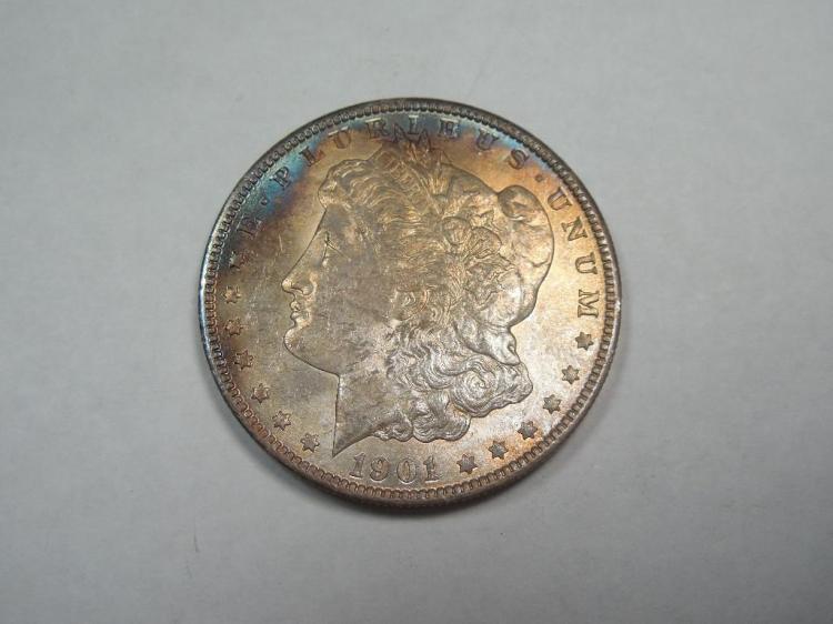 ~MS66 1901-O Morgan Dollar Silver Coin