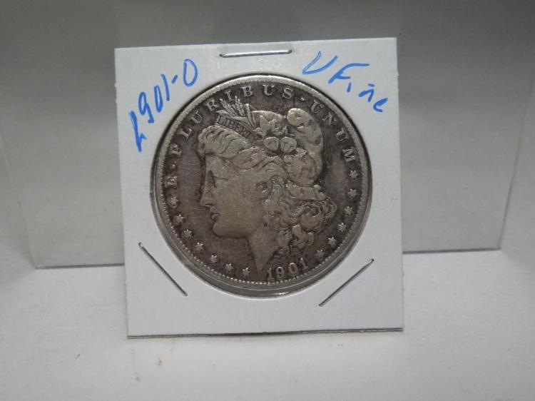 1901-O Morgan Silver Dollar Coin