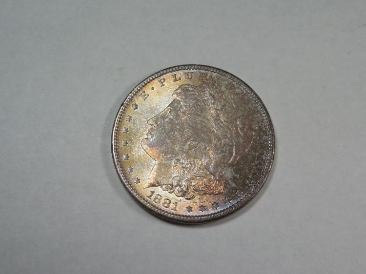 ~MS66 1881 Morgan Dollar Silver Coin
