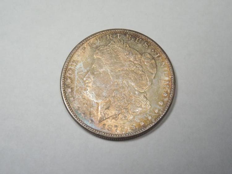~MS66 1878-S Morgan Dollar Silver Coin
