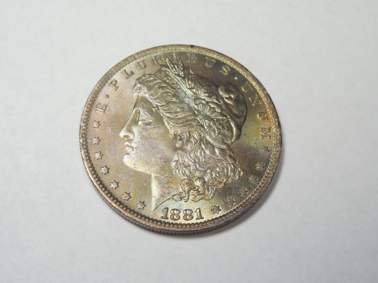 ~MS66 1881-O Morgan Dollar Silver Coin