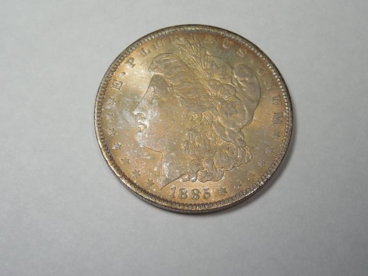 ~MS66 1885-O Morgan Dollar Silver Coin
