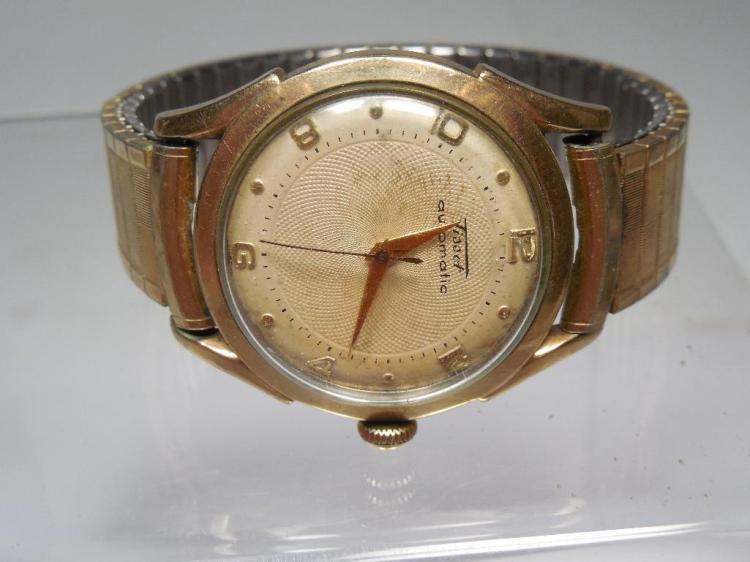 Vintage Tissot Automatic Gold Filled Men's Watch