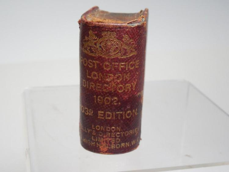 Rare Post Office London Travelling Inkwell Book