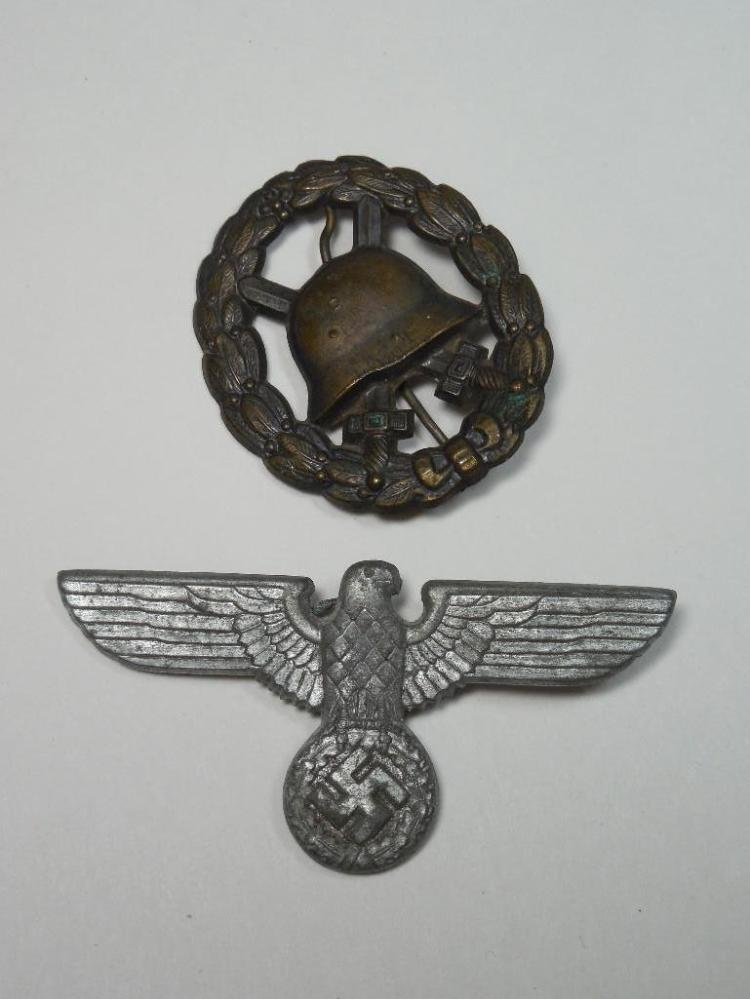 2 Nazi German WWII Medals Inc. Party Eagle