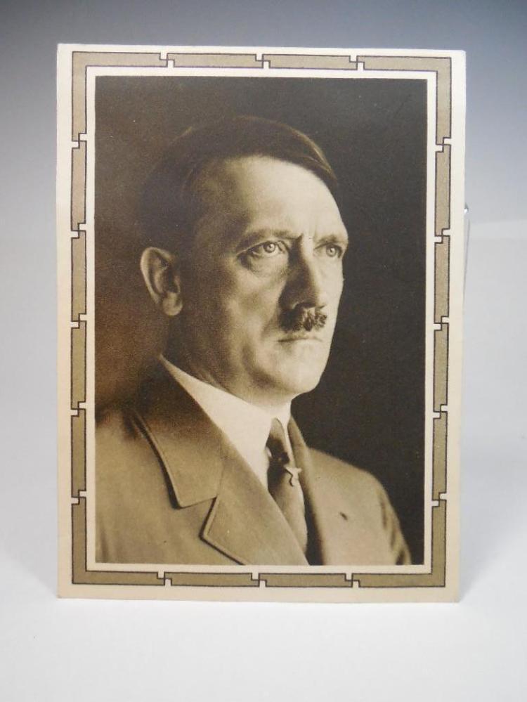 Rare Hitler Postcard from Austria on 50th Birthday