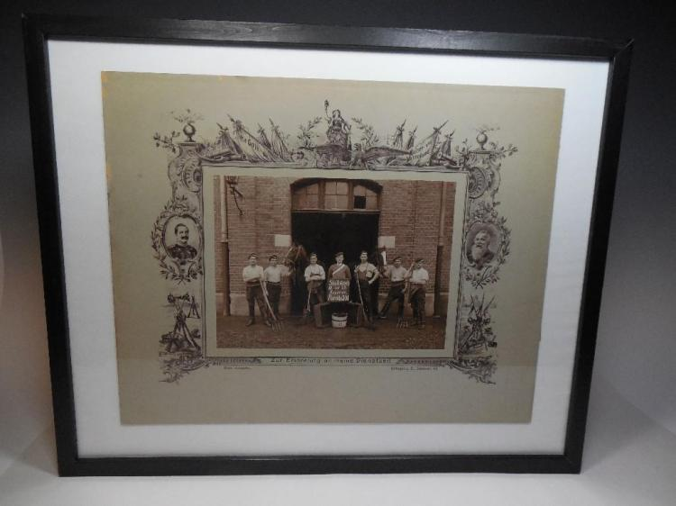 Antique German Early 1900s Labor Related Photo