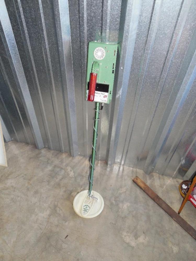 Vintage Garrett Metal Detector