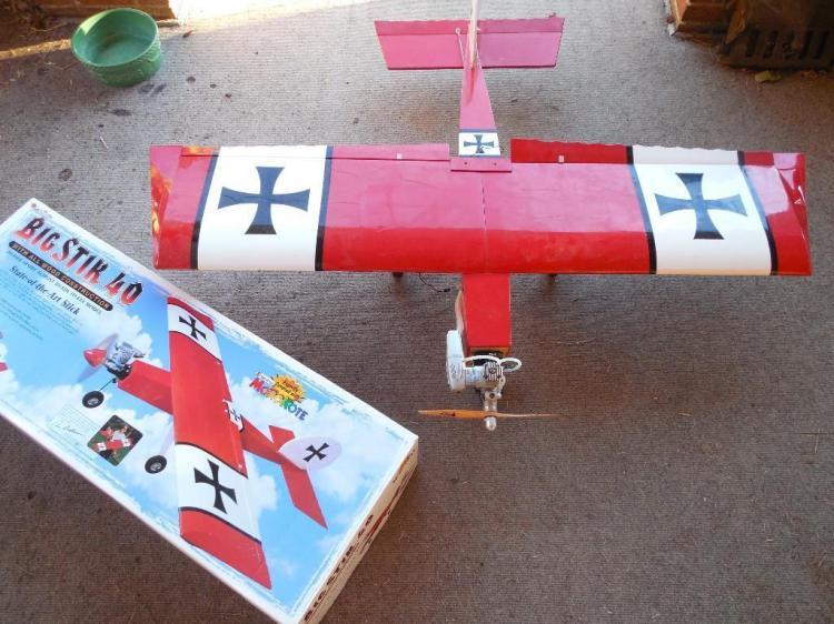 Big Stik 40 Model RC Airplane w/Box