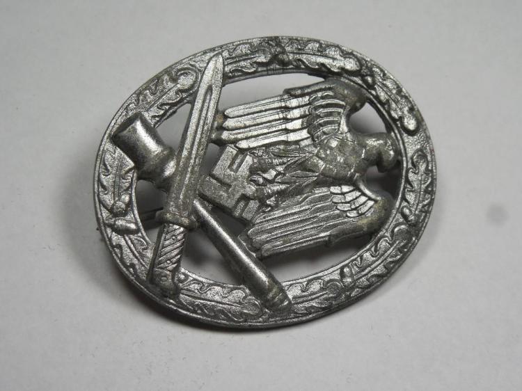 Nazi German WWII General Assault Badge