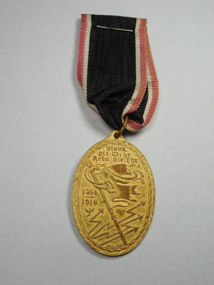 WWI German Kyffhuser Bund Verteran Medal, Ribbon
