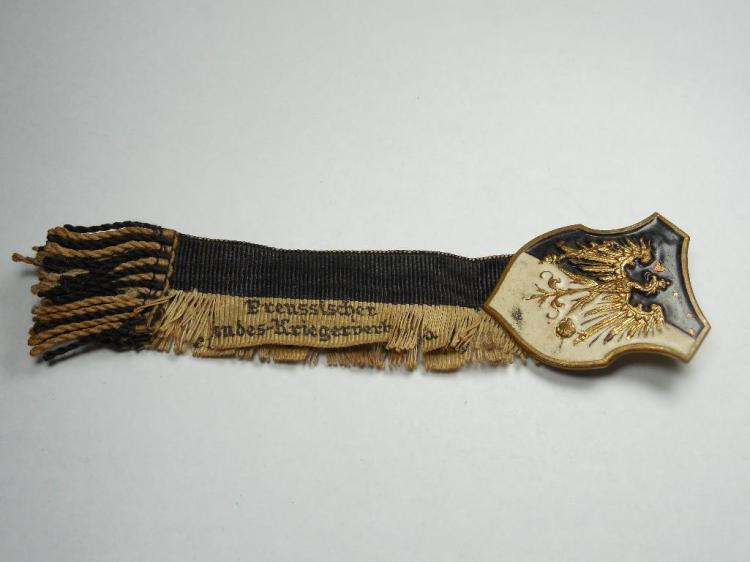 Unusual WWI Era Prussian Military Veteran Medal
