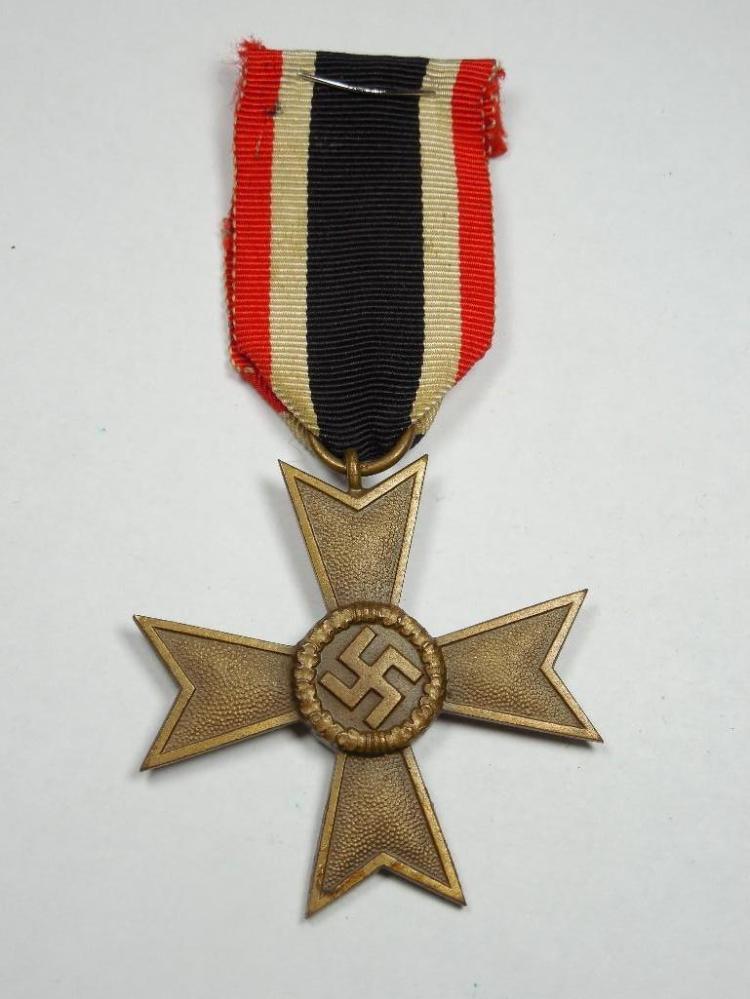 Nazi German War Merit Cross on Ribbon