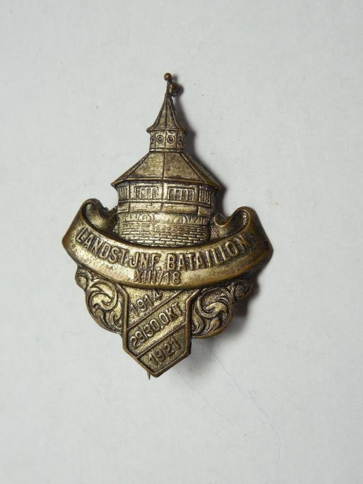 Rare WWI German Veteran Pin 1914-1921