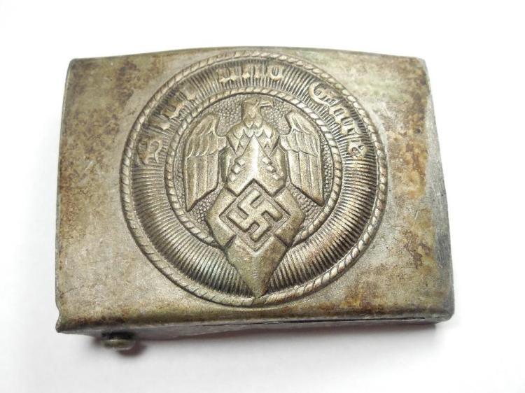 Nazi German WWI Buckle - Hitler Youth