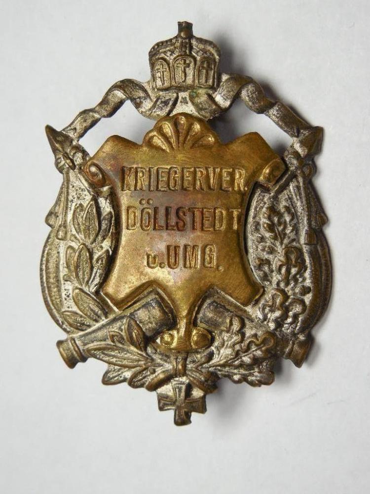 Unusual German WWI Era Military Badge or Pin