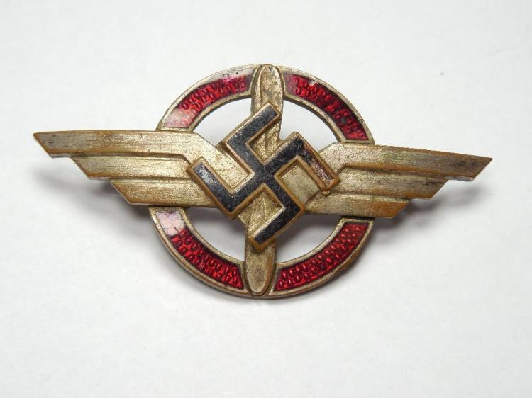 RARE Nazi German WWII Deutsches Luft Verband Pin