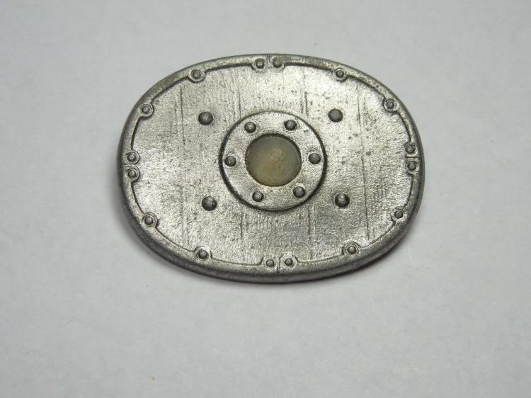 Nazi German Heritage Shield Tinnie Pin