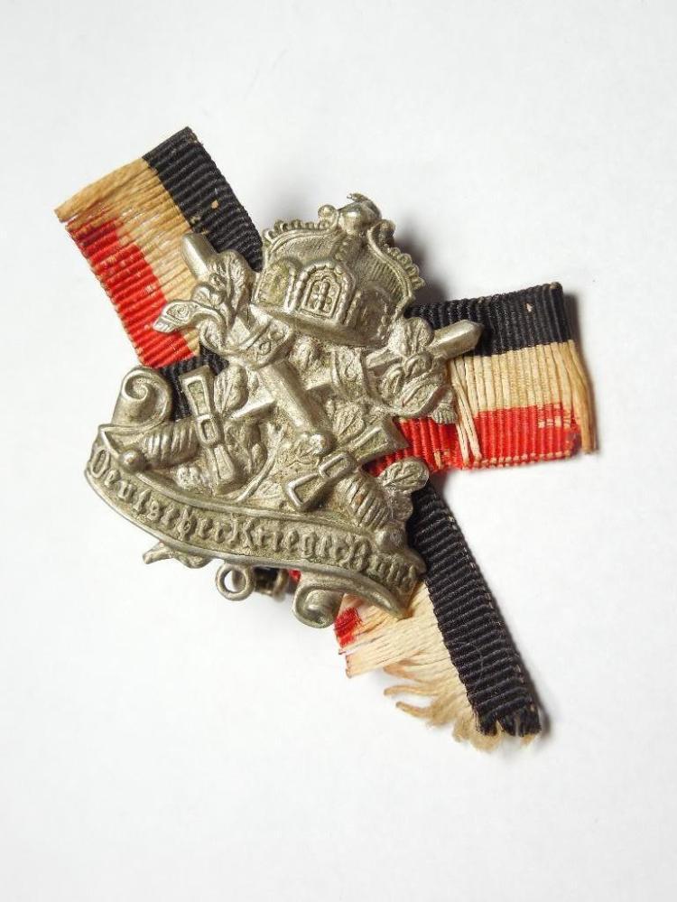 WWI Era German Imperial Veteran Association Badge
