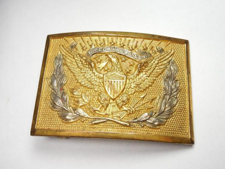 Nice Federal Patten US Eagle and Oak Leaf Buckle