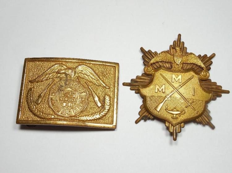 2 Military Institute Items Inc. Marion Alabama