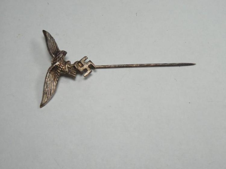 Nazi German WWII Luftwaffe Stick Pin