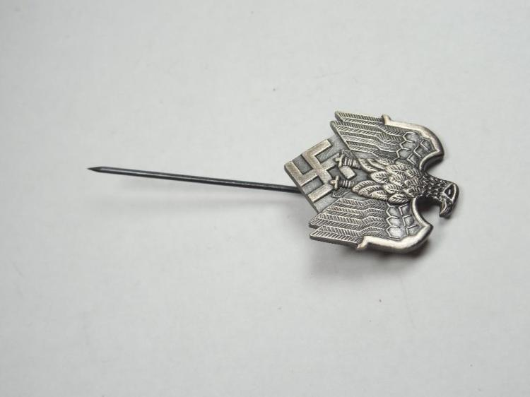 Fine Nazi German Eagle Swastika Party Pin