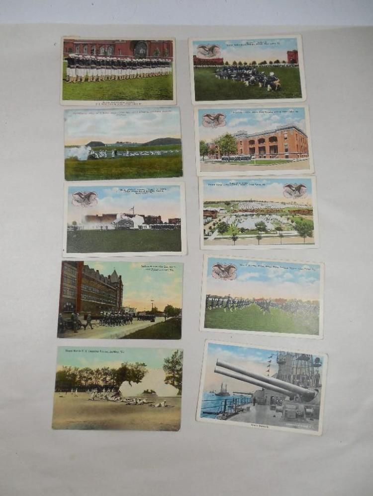 10 Better Early 1900s Military Postcards