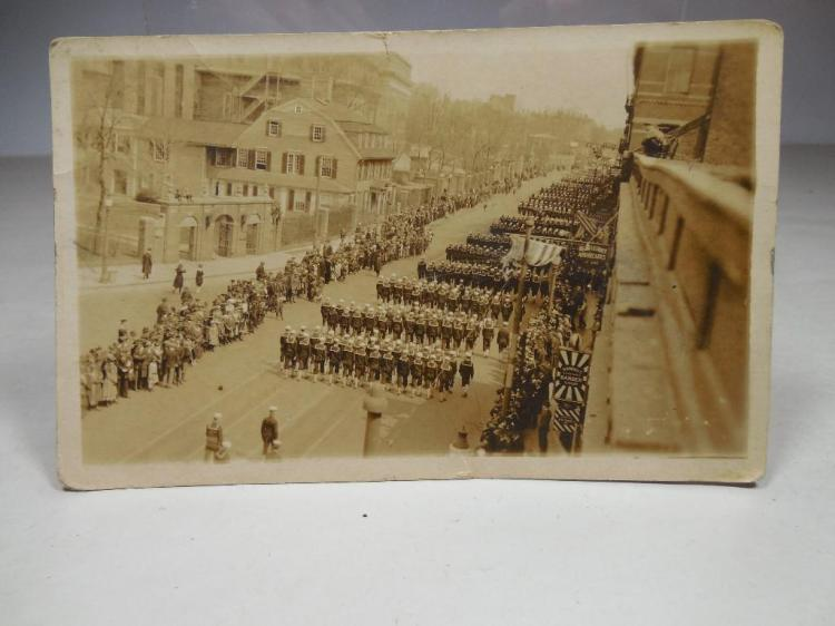 WWI Era RPPC Real Photo Postcard Victory Parade
