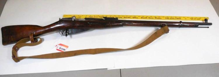Russian m91/30 7.62 mm Mosin Nagant Rifle
