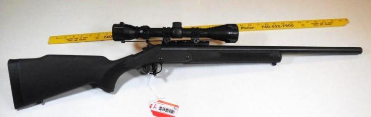 H&R 17 HMR Varmint Single Shot Rifle