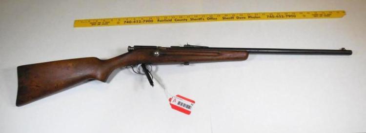 Stevens Model 52-A Springfield 22 LR Rifle